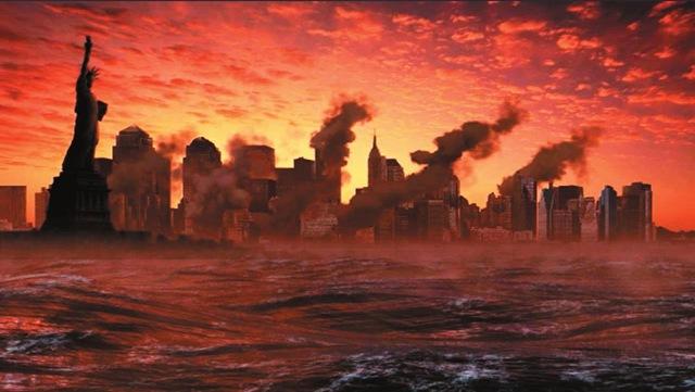 NY em chamas
