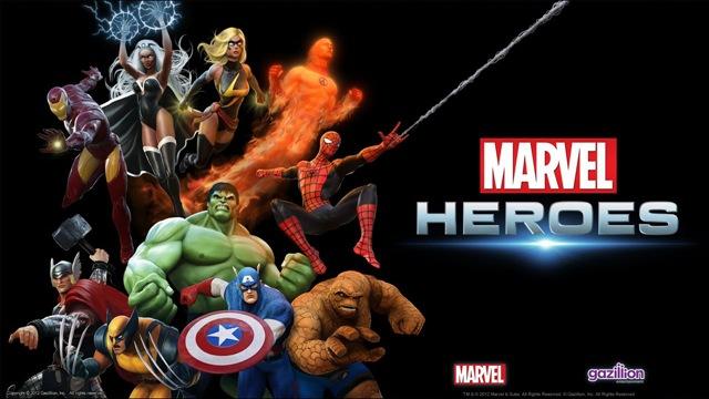 Marvel Heroes 01