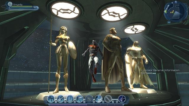 DC Universe Online - Statues