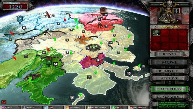 Mapa da Campanha