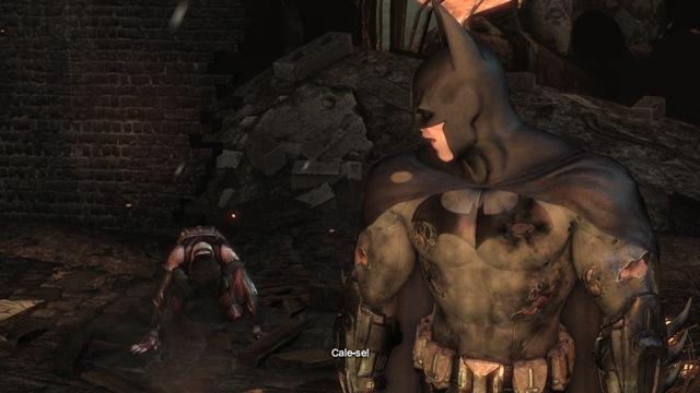 Batman perde a compostura...