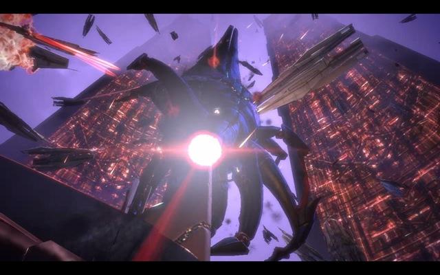 Mass Effect - Batalha