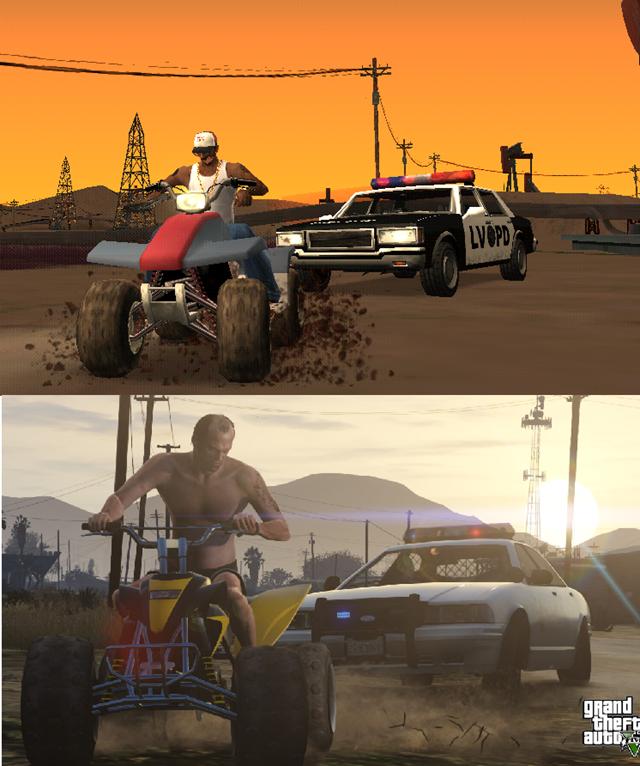 Trevor - ATV Chase