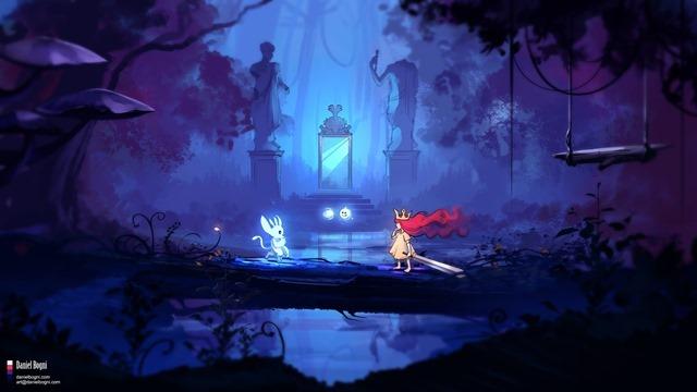 Ori and Aurora (by Daniel Bogni)