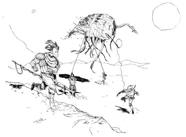 Morrowind - Silt Strider