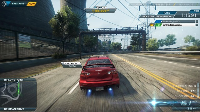 Need for Speed - Most Wanted Duelo 68