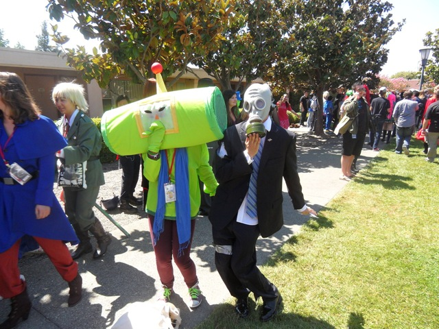 Mr. Foster e Lord Katamari