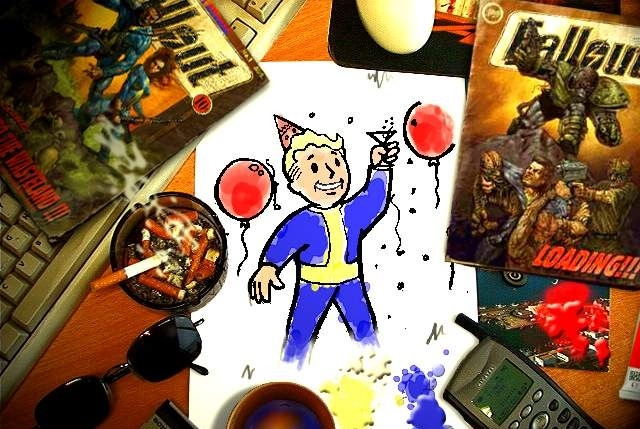 Fallout Desk Party