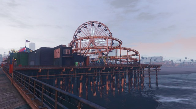 Santa Monica Ferris Wheel - GTA V
