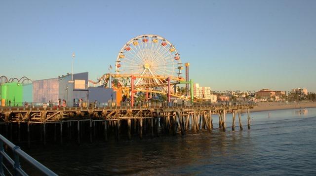 Santa Monica Ferris Wheel - Real