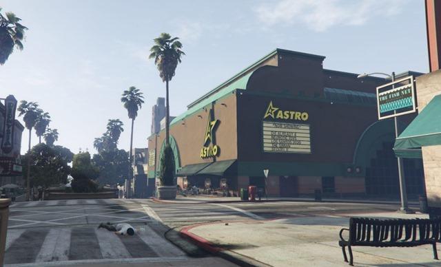 Third Street Promenade - GTA V