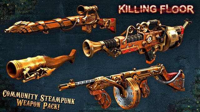 Community Steampunk Weapon Pack