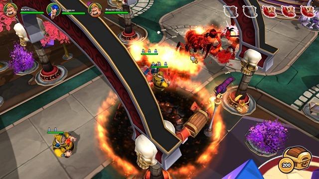 Dungeonland - Explosões!